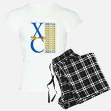 XC Run Royal Blue Gold Pajamas