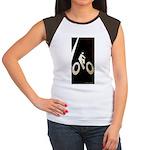 Bicycling Women's Cap Sleeve T-Shirt
