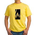 Bicycling Yellow T-Shirt