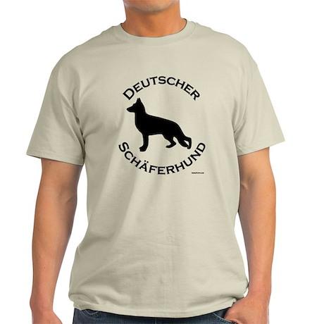 Deutscher Schaferhund Light T-Shirt