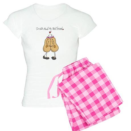 Nuts About Best Friend Women's Light Pajamas