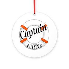 Captain Wayne Ornament (Round)