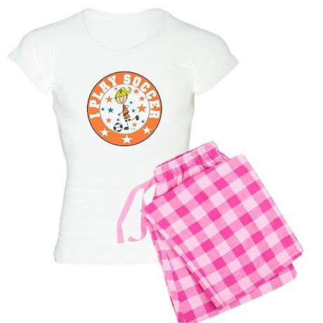 Girl I Play Soccer Women's Light Pajamas