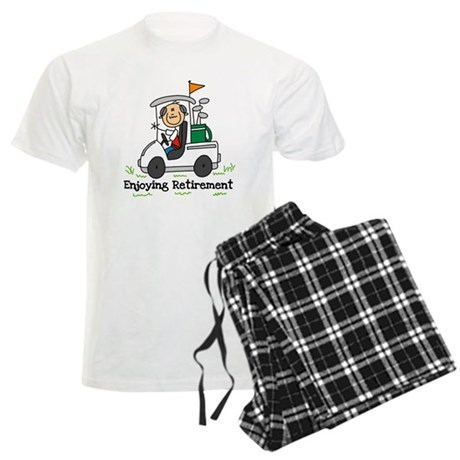Retired and Golfing Men's Light Pajamas