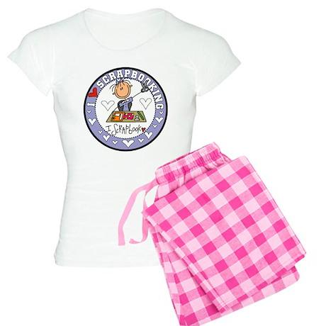 I Love Scrapbooking Women's Light Pajamas