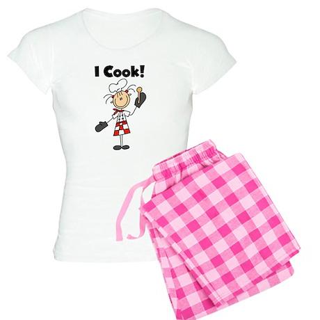 Female Chef I Cook Women's Light Pajamas