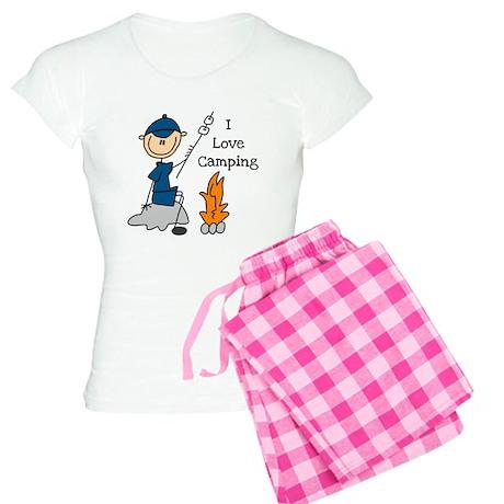 I Love Camping Women's Light Pajamas