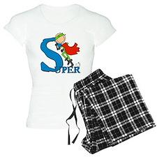 Super Stick Figure Hero pajamas