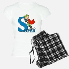 Super Stick Figure Hero pajamas