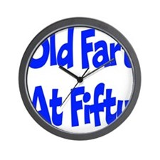 50th Birthday Wall Clock