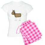 Stick Figure Horse Women's Light Pajamas