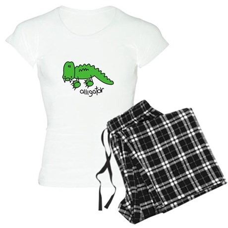Stick Figure Alligator Women's Light Pajamas