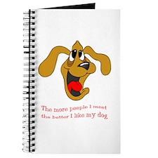 People vs. Dog Journal