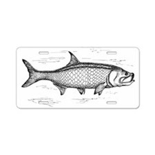 Tarpon Aluminum License Plate