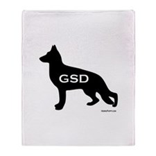 GSD Throw Blanket