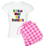 Bright Colors 100th Day Women's Light Pajamas