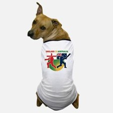 Cricket England Australia Dog T-Shirt