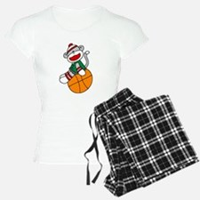 Sock Monkey Basketball Pajamas