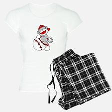 Sock Monkey Baseball Pajamas