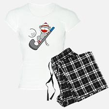 Sock Monkey Golf Pajamas