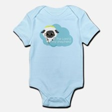 """The Lord is my shepherd"" Infant Bodysuit"
