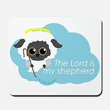 """The Lord is my shepherd"" Mousepad"