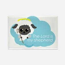"""""""The Lord is my shepherd"""" Rectangle Magnet"""