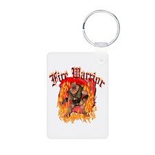 Fire Warrior Keychains