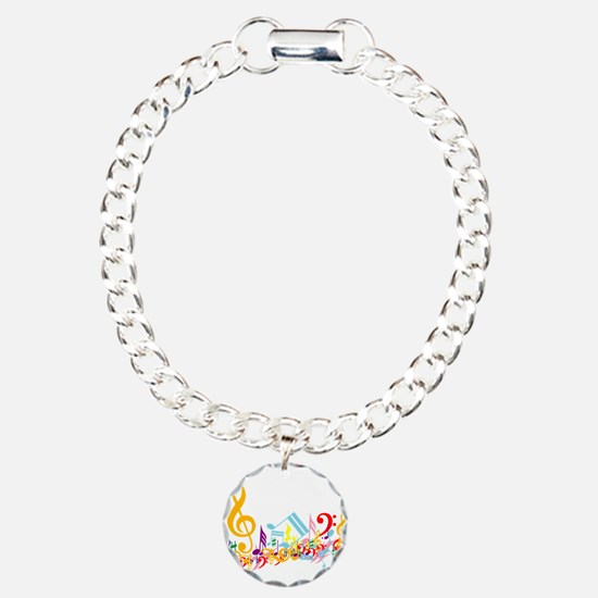 Mixed Musical Notes (color) Bracelet