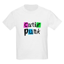 Cutie Punk Kids T-Shirt