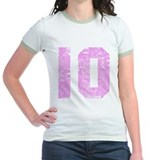 10th birthday Jr. Ringer T-Shirt