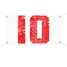 10th Birthday Banner