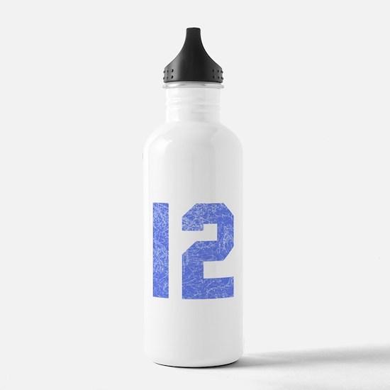 12th Birthday Sports Water Bottle