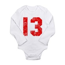 13th Birthday Long Sleeve Infant Bodysuit
