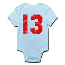 13th Birthday Infant Bodysuit