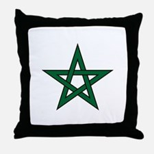 Morocco Star Throw Pillow
