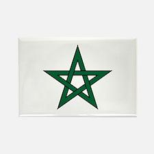 Morocco Star Rectangle Magnet