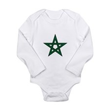 Morocco Star Long Sleeve Infant Bodysuit