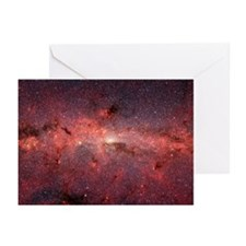 Milky Way Galaxy Center Greeting Cards (Package of