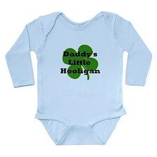 Daddy's Little Hooligan Long Sleeve Infant Bodysui