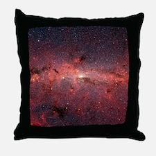 Milky Way Galaxy Center Throw Pillow