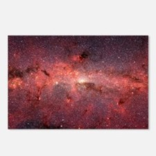 Milky Way Galaxy Center Postcards (Package of 8)