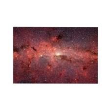 Milky Way Galaxy Center Rectangle Magnet