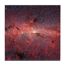 Milky Way Galaxy Center Tile Coaster