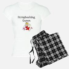 Scrapbooking Queen Pajamas