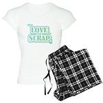 Love To Scrap Women's Light Pajamas