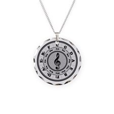 B&W Circle of Fifths Necklace