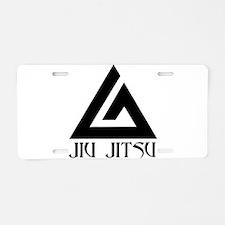 Jiu Jitsu Aluminum License Plate