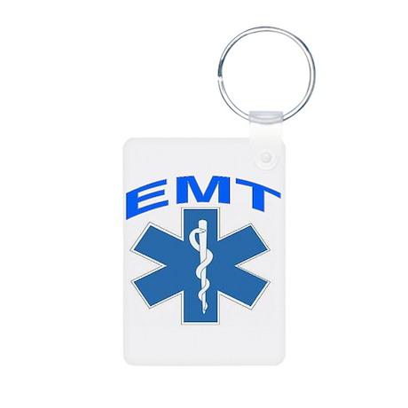 EMT Aluminum Photo Keychain
