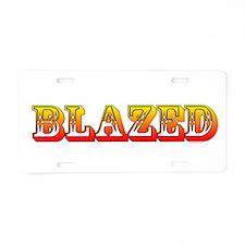 Blazed - Aluminum License Plate